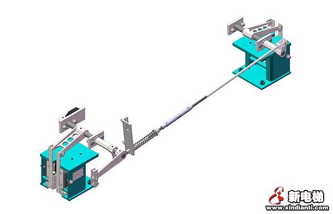 HN2500C一体式安全钳