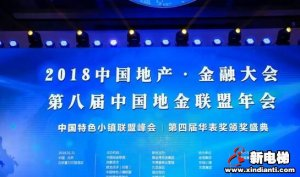 """新电梯中国网CEO邓丽丽荣获地产华表奖""""中国房地产新锐人物""""奖项"""