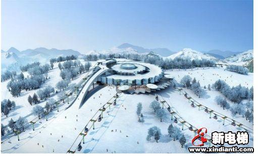"""贯彻高质量发展要求,富士达穿山电梯或将推动冰雪产业变革""""/"""