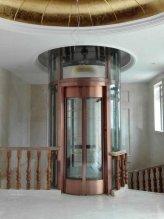 天津家乐360圆形家用电梯