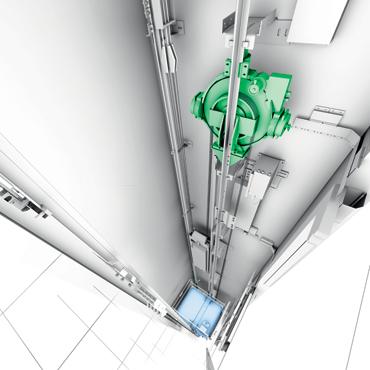 通力3000 MonoSpace 无机房电梯